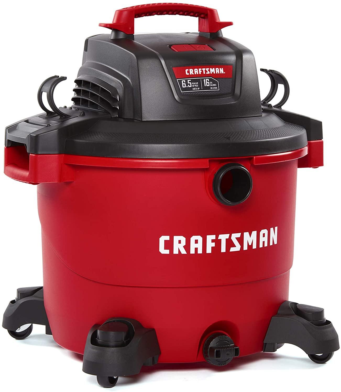 CRAFTSMAN CMXEVBE17595 16 Gallon 6.5 Peak HP WetDry Vacuum