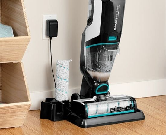 bissell crosswave cordless max 2554a